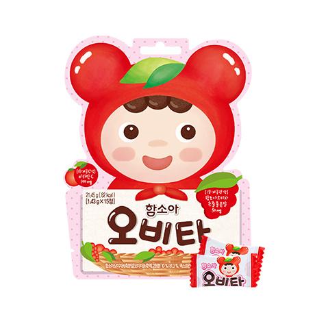 [비타민 간식]<br>함소아 오비타 15정