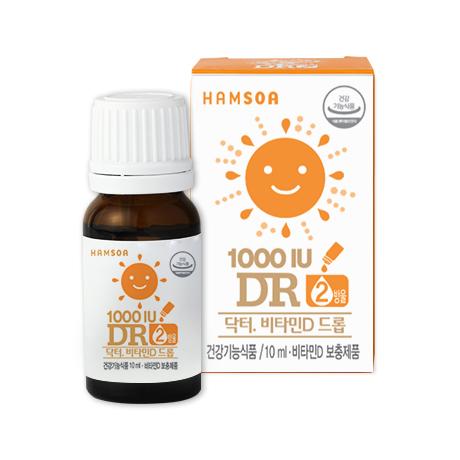 [한의원 구매 가능]<br>DR.비타민D드롭 10ml
