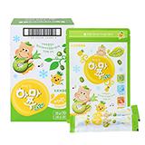 짜먹는하마쭈다래 파인애플맛 10봉 (10gx10개입x10개)