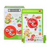 짜먹는하마쭈다래 사과맛 10봉 (10gx10개입x10개)