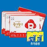 홍키통키 플러스 레드 3개월 (추가증정:하마쭈 DHA 40정)