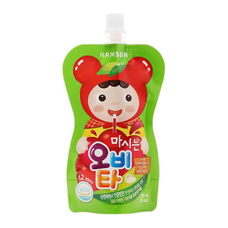[오미자,천연과즙 음료]<br>함소아 마시는 오비타 100ml