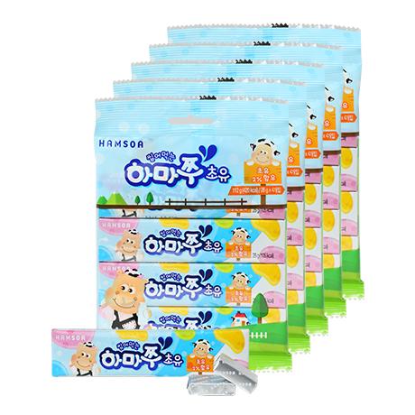 [슈퍼푸드 초유함유]<br>씹어먹는 하마쭈 초유 20개(4gx7개입x20개)