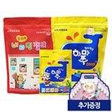 비타민젤리 딸기맛 100정+하마쭈DHA 100정(80정+20정)(추가증정:DIY백 10개)