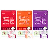 비타민젤리 60정 3종(딸기+감귤+포도)-총 180정