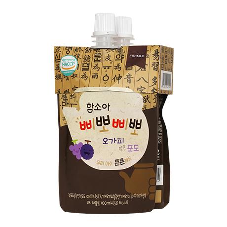 함소아 삐뽀삐뽀 오가피 담은 포도 100mlX2입