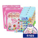하마짱 밀크온 딸기맛 200정(100정x2)+하마쭈 초유 20개 (증정:스페셜DIY백 10개)