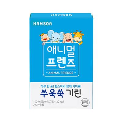 쑤욱쑥 기린(20 ml x 7포)/애니멀프렌즈