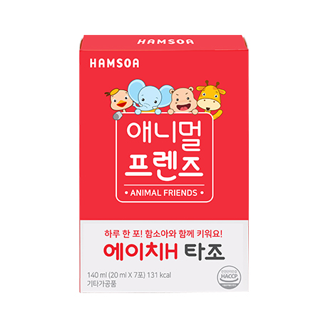 [애니멀프렌즈★하루한포]<BR>에이치H 타조(20 ml x 7포)/애니멀프렌즈