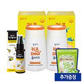 키즈DHA플러스D 2개(40일분)+프로폴리스 50ml (증정 : 밀크온 요구르트맛 100정)