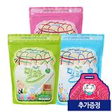 밀크온(오리지널+딸기+요구르트) 3가지맛 300정 (증정: 땡큐DIY백 10개)-유통기한:2020-04-03