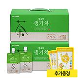 함소아 생기차(100mlx20포)X2박스 (증정: 얼려먹는 하마쭈 망고맛 1봉)