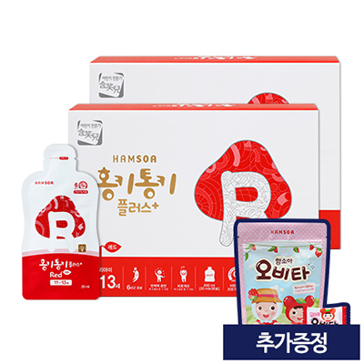 홍키통키 플러스 레드 2개월 (추가증정: 오비타 50정)