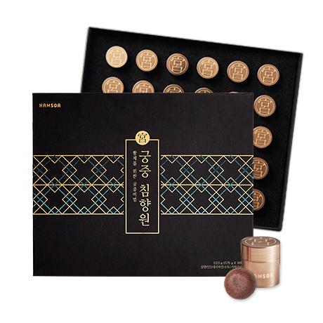 [신제품 출시]<br>궁중 침향원 3.75g x 30환-쇼핑백포함