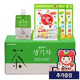 함소아 생기차 1박스+짜먹는하마쭈다래 3종 (추가증정: 오비타15정)
