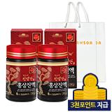 진생단 홍삼진액 240gx2세트 [증정: 쇼핑백 2개]