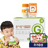 함소아 비타민D 1000IU(130mg X 60캡슐)+홍키통키 프라임 그린 1개월 (증정:마시는 오비타 1박스)