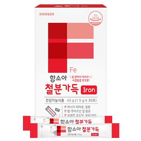 [어린이 철분제]<br>함소아 철분가득 1개월(30포)