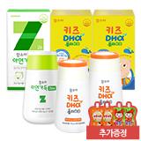 함소아 아연가득 1,000 mg X 120정 (30일분)+키즈DHA플러스D 2통(40일분) (증정:배도라지 2포+마시는 오비타 2포)