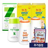 함소아 아연가득 1,000 mg X 120정 (30일분)+키즈DHA플러스D 2통(40일분) (증정:오비타 50정)